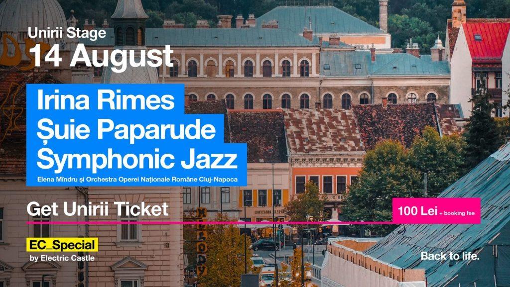 Irina Rimes / Șuie Paparude / Symphonic Jazz @ EC_Special